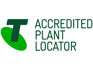 We are registered and accredited Telstra Plant Locators